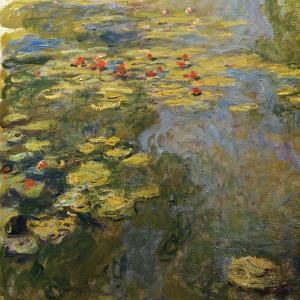 The Waterlily Pond, 1919 by Claude Monet