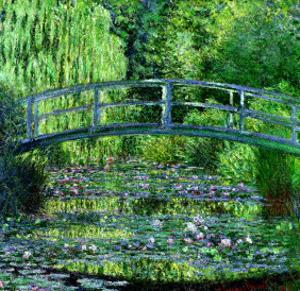 The Waterlily Pond: Green Harmony, 1899 by Claude Monet