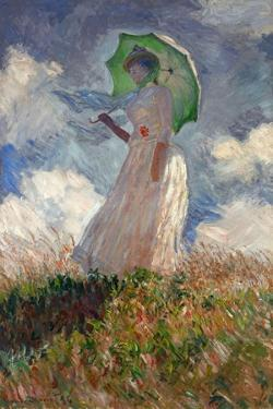 The Woman With a Parasol, 1886 by Claude Monet
