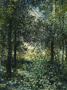 Thicket: the House of Argenteuil; Les Broussailles: La Maison D'Argenteuil, 1876 by Claude Monet
