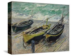 Three Fishing Boats, 1886 by Claude Monet