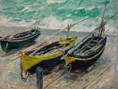 Three Fishing Boats, 1886 by Claude Monet