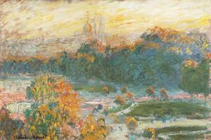 Tuileries by Claude Monet
