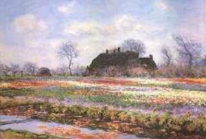 Tulip Fields at Sasenheim by Claude Monet