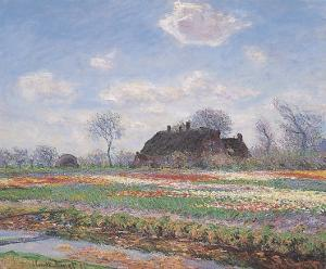 Tulip Fields at Sassenheim by Claude Monet