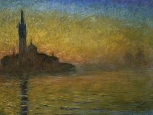 Twilight in Venice by Claude Monet