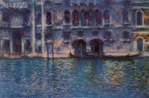 Venice Palazzo Da Mula by Claude Monet