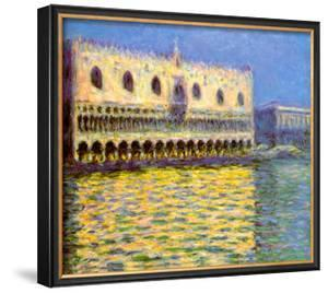 Venice, the Doge Palace by Claude Monet