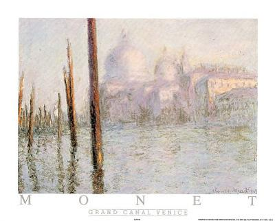 Venise Le Grand Canal by Claude Monet
