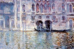 Venise Palazzo De Mula by Claude Monet