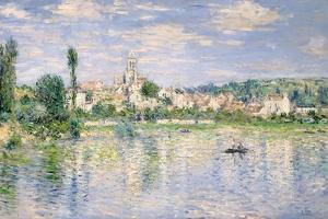 Vetheuil in Summer by Claude Monet