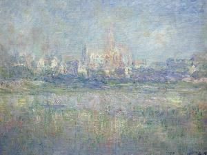 Vetheuil in the Fog, 1879 by Claude Monet