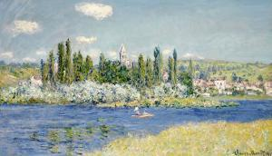 Vetheuil by Claude Monet