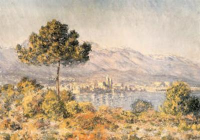 View of Antibes by Claude Monet