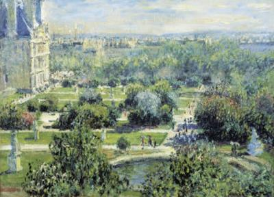 View of the Tuileries Gardens by Claude Monet