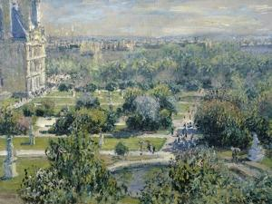 View of the Tuileries by Claude Monet