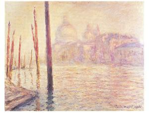 View of Venice by Claude Monet