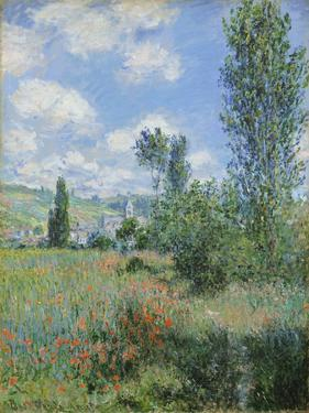 View of Vetheuil, 1880 by Claude Monet