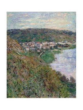 View of Vétheuil, 1880 by Claude Monet