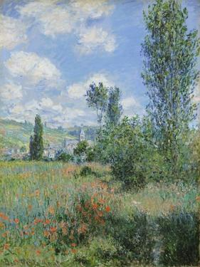 View of Vétheuil by Claude Monet
