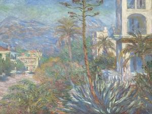 Villas at Bordighera, 1884 by Claude Monet