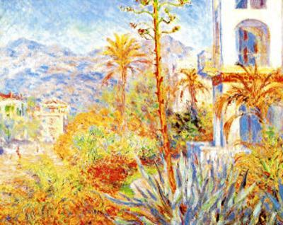 Villas at Bordighera by Claude Monet