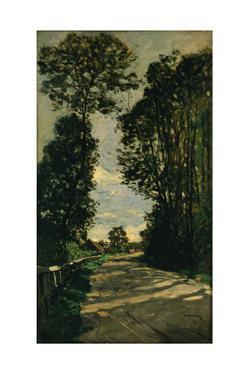 Walk (Road of the Farm Saint-Siméo), 1864 by Claude Monet