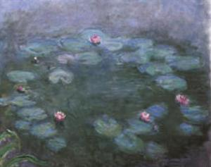 Water Lilies 2 by Claude Monet
