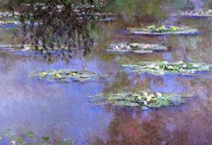 Claude Monet Water-Lilies 4 Art Print Poster