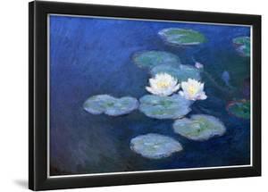 Claude Monet Water-Lilies 7 Art Print Poster