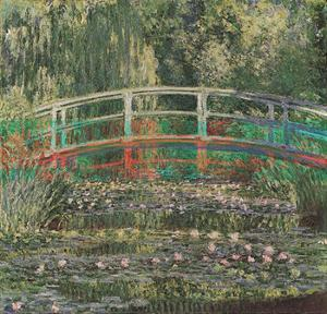 Water Lilies and Japanese Bridge by Claude Monet