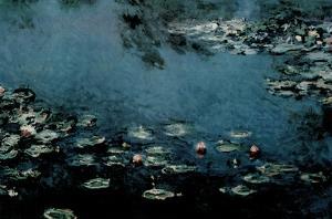 Claude Monet (Water Lilies) Art Poster Print