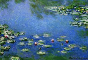 Claude Monet Water Lilies Art Print Poster