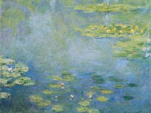 Water Lilies, C. 1906 by Claude Monet