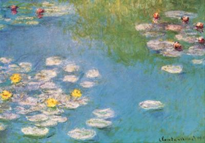 Water Lilies, c.1908 (detail) by Claude Monet