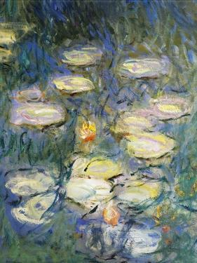 Water Lilies, Detail, 1840-1927 by Claude Monet