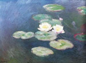 Water Lilies Effects by Claude Monet