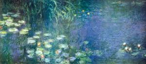 Water Lilies Morning by Claude Monet