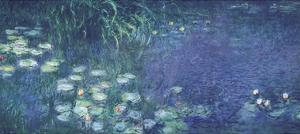Water Lilies: Morning by Claude Monet