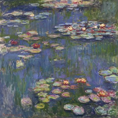 Water Lilies (Nymphéas), c.1916 by Claude Monet