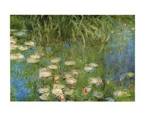 Water Lilies of the Orangerie as Giverny by Claude Monet