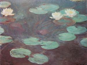 Water lilies (or Nympheas) by Claude Monet