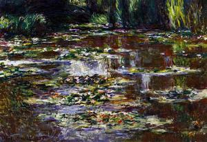 Claude Monet Water Lilies Water Landscape #3 Art Print Poster