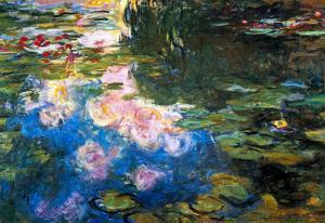 Claude Monet Water Lillies # 4 Art Print Poster