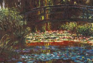 Claude Monet Water Lily Pond #1 Art Print Poster