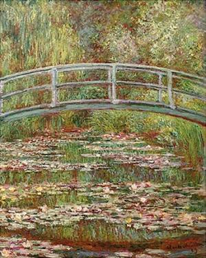 Water Lily Pond, 1899 by Claude Monet