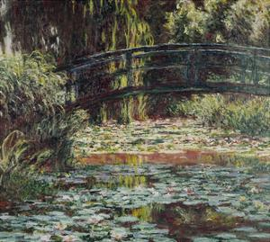 Water Lily Pond, 1900 by Claude Monet