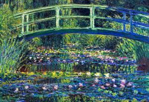 Claude Monet Water Lily Pond #2 Art Print Poster