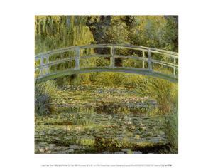 Water Lily Pond and Bridge by Claude Monet