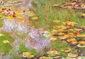 Water Lily Pond at Giverny by Claude Monet